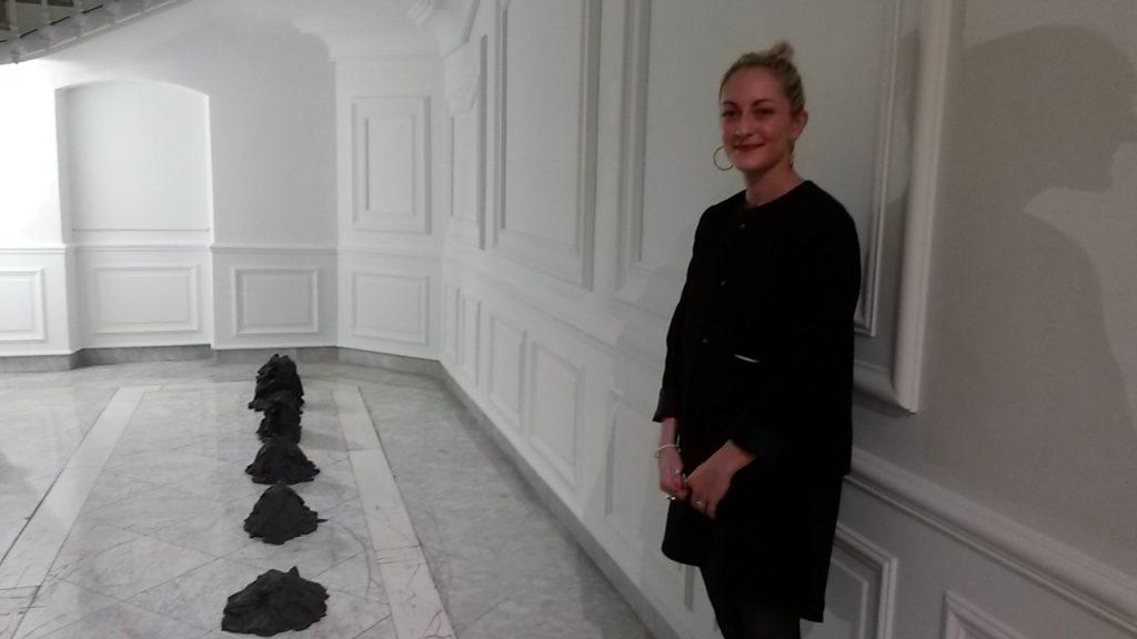 Caroline Mary et ses sculptures de grès @ArtInVar