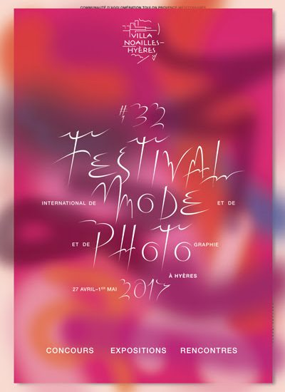 Affiche du 32eme Festival International de Mode et de Photographie de Hyères