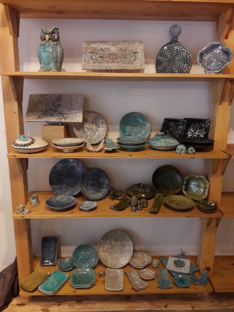 Les céramiques de Fabienne Rabier