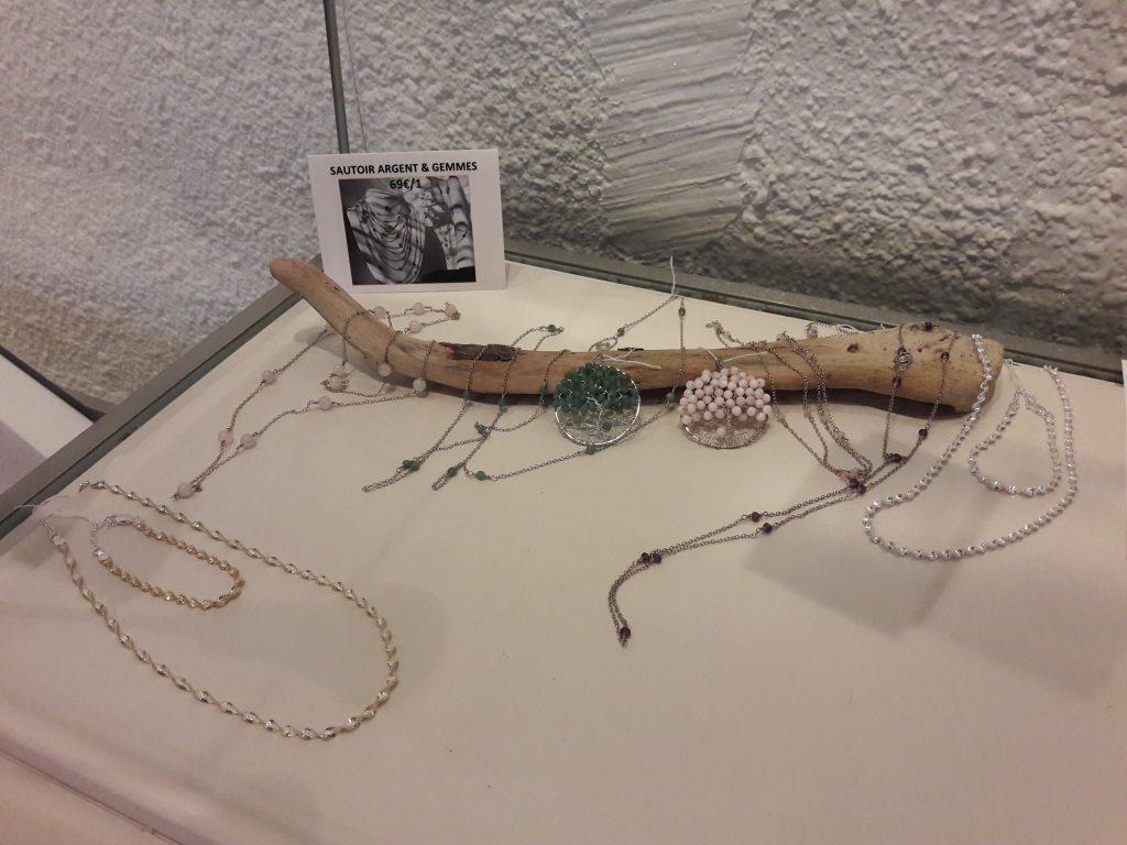 Les bijoux d'Elisabeth Decaprio