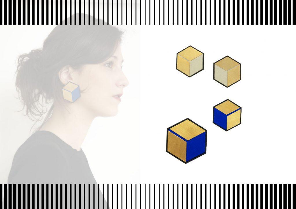 Boucles d'oreilles perspective
