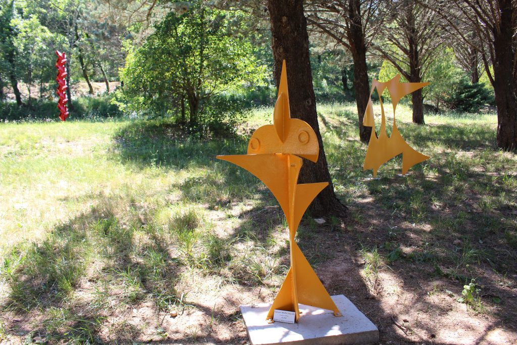 sculpture jardin