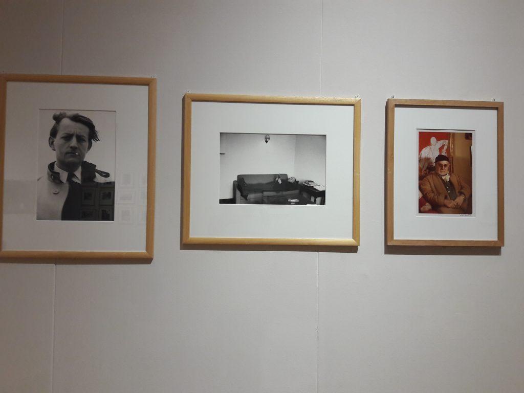 Gisèle Freund, Portrait de Matisse, Eugène Ionesco et André Malraux