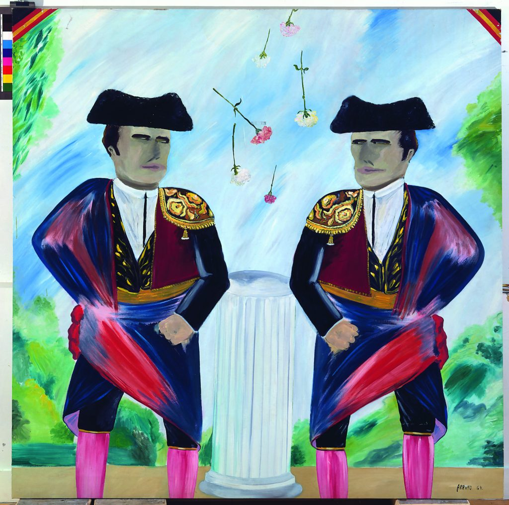 16.ARROYO.Double portrait de Bocanegra ou le jeu des 7 erreurs, 1964