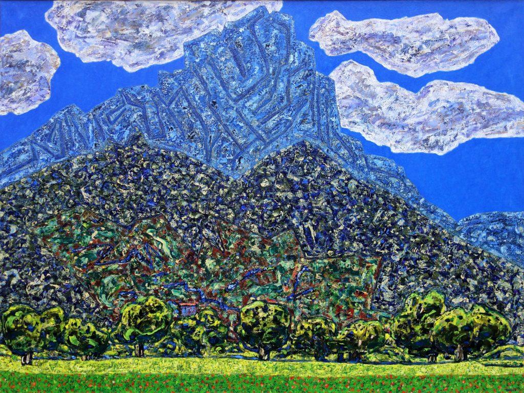 HD Vincent Bioul+¿s, Le Muscle du printemps, 2016, 150x200cm, copyright Pierre Schwartz, courtesy Galerie La Forest Divonne . Paris_Brussels