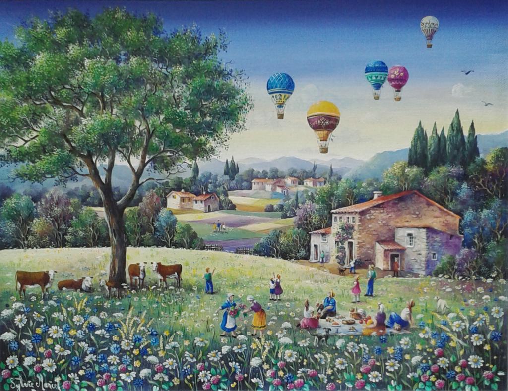 sylvie marcel 27 x 35 cm