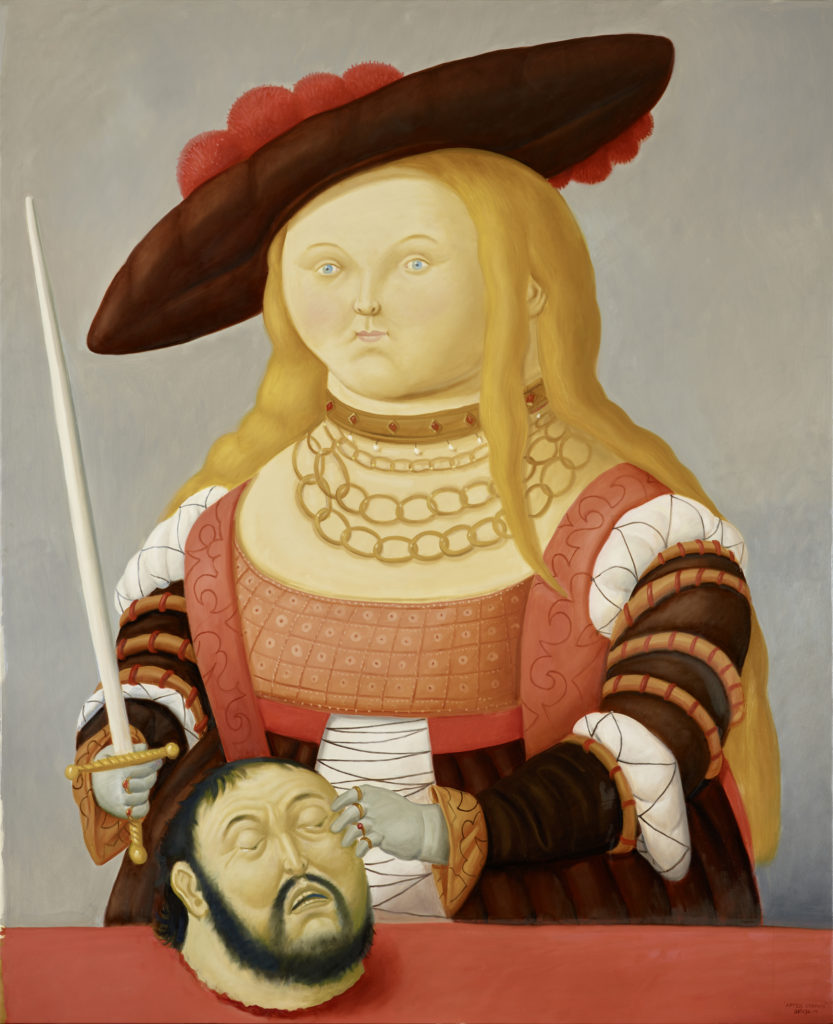 Fernando BOTERO After Cranac 2016172x140cm